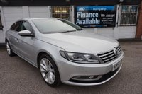 2012 VOLKSWAGEN CC 2.0 GT TDI BLUEMOTION TECHNOLOGY DSG 4d AUTO 168 BHP FVSH-NAV-LEATHER £9000.00