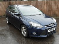2011 FORD FOCUS 1.6 TDCI ZETEC ESTATE 5dr  4 NEW INJECTORS JUST BEEN FITTED £6000.00