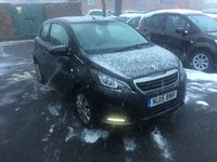 USED 2015 15 PEUGEOT 108 1.0 ACTIVE 3d 68 BHP £0 ROAD TAX, LOW RUNNING COSTS!!