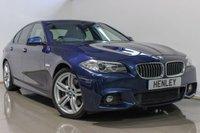 2016 BMW 5 SERIES 3.0 530D M SPORT 4d AUTO 255 BHP £19990.00
