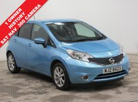 USED 2015 64 NISSAN NOTE 1.2 TEKNA DIG-S 5d AUTO 98 BHP ***1 Owner, Full Service History, ,Sat Nav, 360 Camera, Half Leather, Privacy Glass, Metallic Paint, Free RAC Warranty and Free RAC Breakdown Cover***
