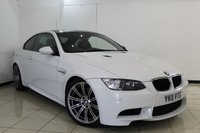 USED 2011 11 BMW M3 4.0 M3 2DR AUTOMATIC 415 BHP BMW SERVICE HISTORY + HEATED LEATHER SEATS + SAT NAVIGATION PROFESSIONAL + PARKING SENSOR + BLUETOOTH + CRUISE CONTROL + MULTI FUNCTION WHEEL + 18 INCH ALLOY WHEELS