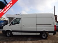 USED 2010 60 VOLKSWAGEN CRAFTER 2.5 CR35 BLUE TDI H/R DIESEL 108 BHP ++++SUMMER SALE NOW ON+++