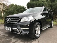 USED 2014 14 MERCEDES-BENZ M CLASS 2.1 ML250 BLUETEC AMG SPORT 5d AUTO 204 BHP GREAT SPEC AMG SPORT 14/14 2 OWNER CAR WITH FULL MERC SERVICE HISTORY