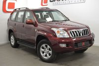 USED 2003 03 TOYOTA LAND CRUISER 3.0 LC4 8-SEATS D-4D 5d AUTO 161 BHP 1 OWNER + FULL SERVICE HISTORY + LEATHER + 8 SEATS