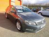 2011 VOLKSWAGEN PASSAT 1.6 S TDI BLUEMOTION TECHNOLOGY 4d 104 BHP £7950.00