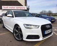 USED 2016 16 AUDI A6 2.0 TDI ULTRA S LINE BLACK EDITION 4d AUTO 188 BHP