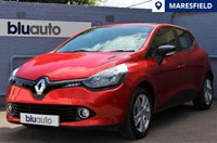 USED 2016 16 RENAULT CLIO 1.1 PLAY 16V 5d 73 BHP Full Renault History, Bluetooth, I-Pod Connectivity, Xenon Lighting, Cruise Control.