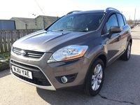 2011 FORD KUGA 2.0 TITANIUM TDCI AWD 5d 163 BHP £7990.00