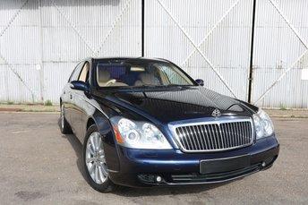 2006 MAYBACH 57 5.5 V12 4d AUTO 550 BHP £84990.00