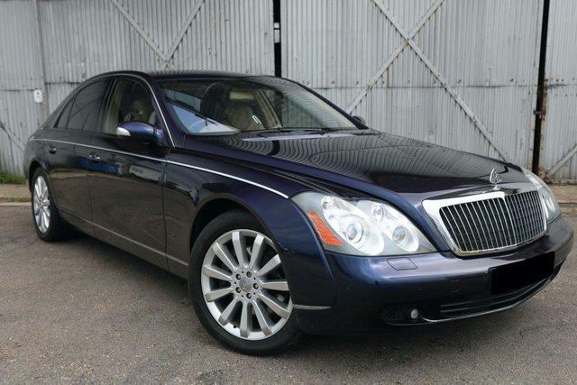 USED 2006 06 MAYBACH 57 5.5 V12 4d AUTO 550 BHP