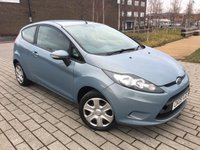 2009 FORD FIESTA 1.2 STYLE PLUS 3d 81 BHP £3795.00