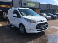 2015 FORD TRANSIT CONNECT 1.6 200 LIMITED P/V 1d 114 BHP £9000.00
