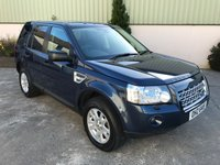 USED 2010 LAND ROVER FREELANDER 2.2 TD4 E XS 5d 159 BHP GREAT SPEC, LEATHER, SAT NAV, LOW MILES, GOOD SERVICE HISTORY
