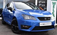 2013 SEAT IBIZA 1.2 TSI FR 5d 104 BHP BLACK PACK ONLY £30 P/YEAR ROAD TAX £7490.00
