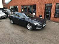 USED 2015 64 VOLVO V60 1.6 D2 SE 5d AUTO 113 BHP Only £20 a year road tax, Full service history,  Part leather upholstery,  Bluetooth,  DAB radio,  Rear parking sensors
