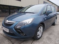 USED 2014 VAUXHALL ZAFIRA TOURER 2.0 EXCLUSIV CDTI 5d 128 BHP Excellent Condition, FSH, Low Rate Finance Available, No Deposit, No Fee Finance, Only One Owner