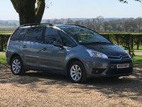 2010 CITROEN C4 GRAND PICASSO 1.6 VTR PLUS HDI EGS 5d AUTO 107 BHP £4450.00
