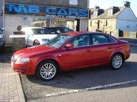 2007 AUDI A4 1.9 TDI SE TDV 4d 116 BHP £4495.00