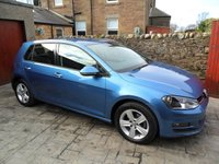 USED 2015 64 VOLKSWAGEN GOLF 1.4 MATCH TSI BLUEMOTION TECHNOLOGY 5d 120 BHP FULL SERVICE HISTORY. 1 YR MOT. PARKING SENSORS