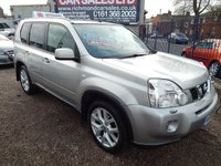 USED 2009 59 NISSAN X-TRAIL 2.0 TEKNA DCI 5d AUTO 148 BHP BLACK LEATHER, SAT NAV, ALLOYS,F.S.H, PANORAMIC SUNROOF