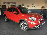 2016 FIAT 500X 1.6 MULTIJET CROSS PLUS 5d 120 BHP £10690.00