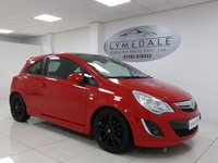 USED 2011 11 VAUXHALL CORSA 1.2 LIMITED EDITION 3d 83 BHP *LOOKS STUNNING, FULL SERVICE HISTORY, 1YR MOT*