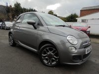 USED 2014 14 FIAT 500 1.2 S 3d 69 BHP HALF LEATHER SPORTS SEATS