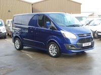 2015 FORD TRANSIT CUSTOM 2.2TDCi L1 290 SPORT  155 BHP - REAR CAMERA & NAV TAILGATE TWIN SIDE LOAD DOORS FRONT AND REAR PARKING SENSORS CRUISE CONTROL AND MUCH MORE  £15995.00