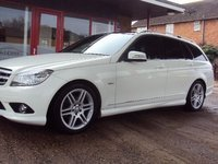 2011 MERCEDES-BENZ C CLASS 2.1 C220 CDI BlueEFFICIENCY Sport Auto £10750.00