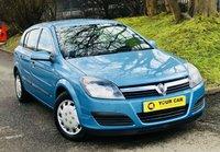 2004 VAUXHALL ASTRA 1.8 LIFE 16V 5d AUTO 124 BHP £1695.00