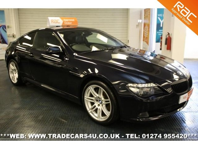 2009 09 BMW 6 SERIES 635D DIESEL LIMITED EDITION SPORT COUPE