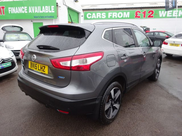 USED 2015 15 NISSAN QASHQAI 1.5 DCI N-TEC PLUS 5d 108 BHP **ONE OWNER FROM NEW ** SAT NAV ** JUST ARRIVED **