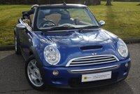 USED 2005 54 MINI CONVERTIBLE 1.6 COOPER S 2d 168 BHP MASSIVE SPEC*** £0 DEPOSIT FINANCE AVAILABLE