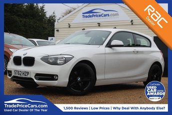 2012 BMW 1 SERIES 1.6 114I SPORT 3d 101 BHP £8950.00