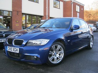 2010 BMW 3 SERIES 2.0 320D M SPORT,Gen 54,000 Miles,2 Owners!!! £7995.00