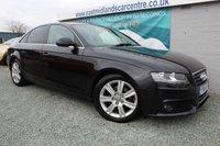 2011 AUDI A4 2.0 TDI SE 4d 134 BHP DIESEL BLACK £8980.00