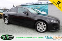 USED 2011 61 AUDI A4 2.0 TDI SE 4d 134 BHP DIESEL BLACK FREE 6 MONTH WARRANTY  + FULL SERVICE HISTORY + CAMBELT REPLACED + CLUTCH REPLACED