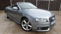 USED 2011 61 AUDI A5 CABRIOLET 2.0 TFSI S LINE 2dr Full Leather, PDC, Xenons