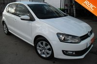 2011 VOLKSWAGEN POLO MATCH 60 5 DOOR £5500.00