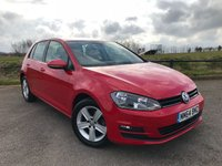 2014 VOLKSWAGEN GOLF 1.4 MATCH TSI BLUEMOTION TECHNOLOGY 5d 120 BHP £12490.00
