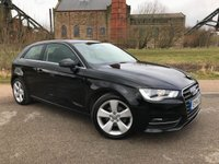 USED 2014 14 AUDI A3 1.2 TFSI SPORT 3d 104 BHP 1 Former Owner / Great Spec
