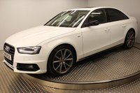 2015 AUDI A4 3.0 TDI QUATTRO S LINE BLACK EDITION PLUS 4d AUTO 241 BHP £17994.00