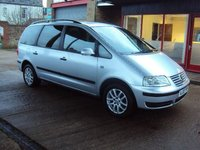 2007 VOLKSWAGEN SHARAN 1.9 TDI SE 115 Tip Auto £2599.00