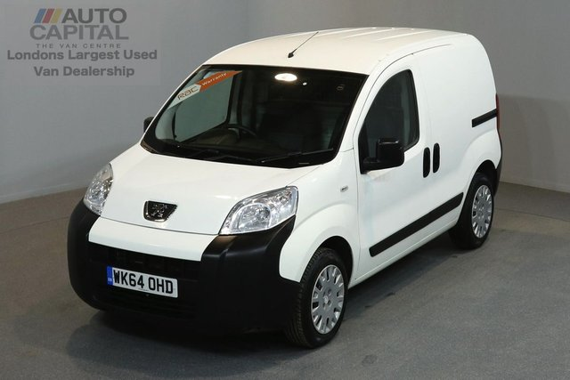 2014 64 PEUGEOT BIPPER 1.2 HDI PROFESSIONAL 75 BHP SWB A/C ONE OWNER FROM NEW