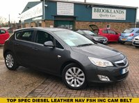 USED 2012 12 VAUXHALL ASTRA 2.0 ELITE CDTI S/S 5 door 163 BHP Technical Grey Black Leather Huge Spec full black heated leather seats alloy wheels 2 keys air con sat nav and so much more !!!