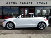 USED 2013 13 AUDI TT 1.8 TFSI SPORT CONVERTIBLE 158 BHP **1 OWNER * F/A/S/H** ** LOW MILEAGE * FULL AUDI SERVICE HISTORY * 1 OWNER **