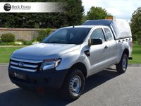 USED 2015 65 FORD RANGER 2.2 XL 4X4 DCB TDCI 4d 148 BHP KING SUPER CAB HARDTOP AIR CONDITIONING