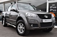 2015 GREAT WALL STEED 2.0 TD TRACKER 4X4 DCB 1d 137 BHP 6 SPEED MANUAL NO VAT £12990.00