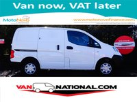 2013 NISSAN NV200 1.5 DCI SE 110 BHP (REVERSE CAMERA ABS ONE OWNER) £6790.00
